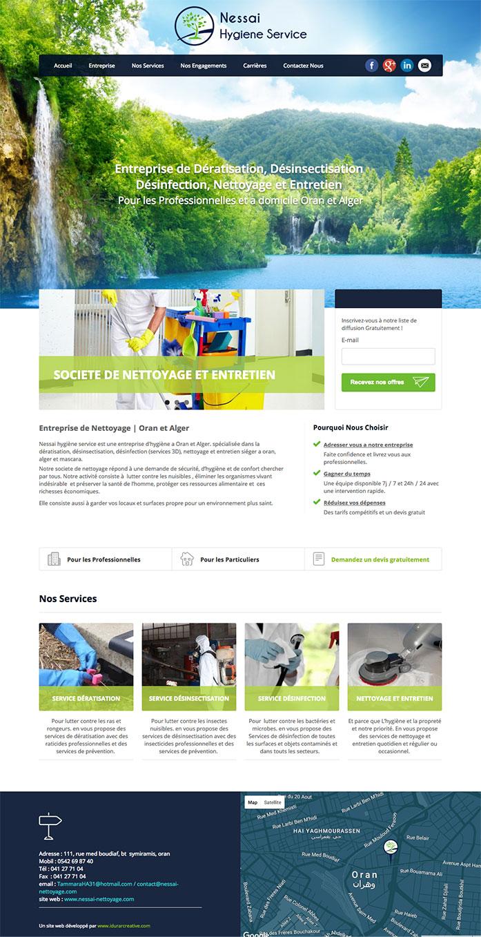 Création de Site Web Oran Algérie